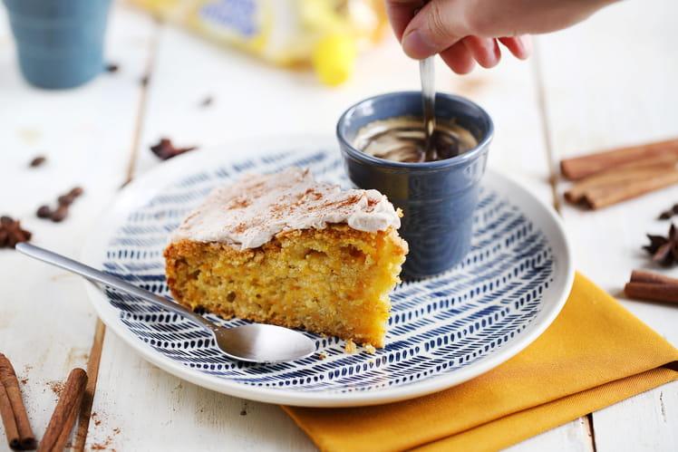 Butternut cake au gingembre et cannelle