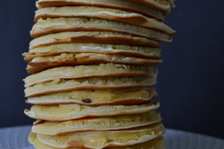 Pancakes au miel