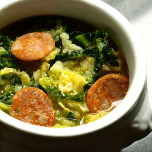 caldo verde ou soupe au chou