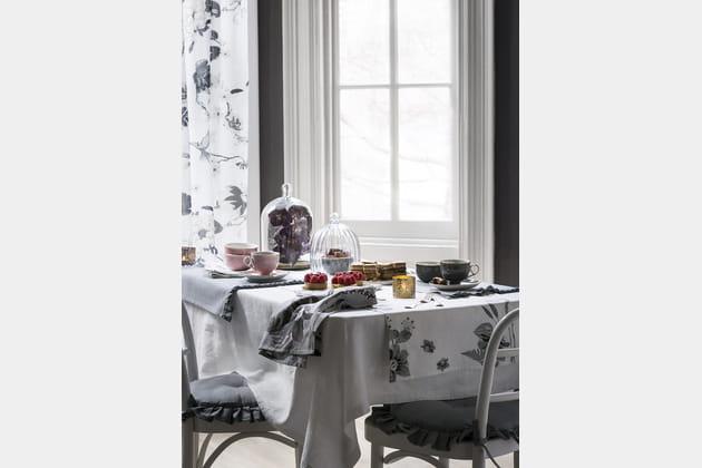 Une table de goûter champêtre