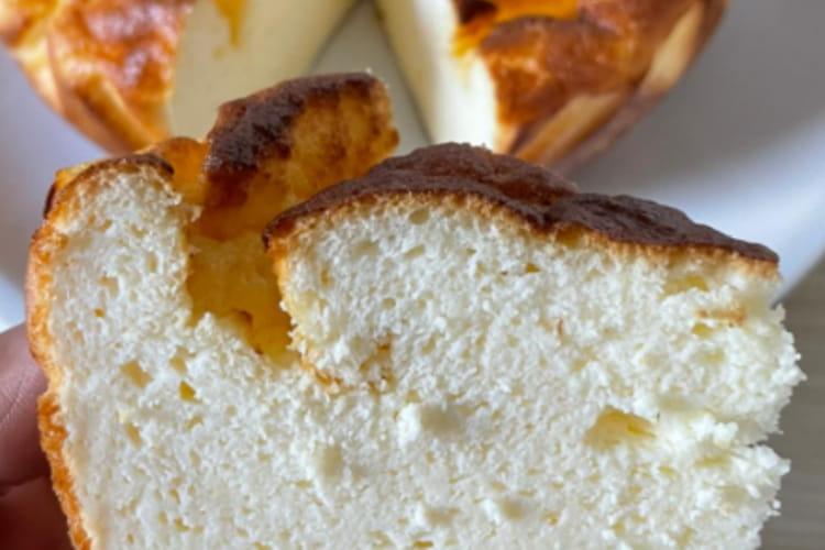 Gâteau au fromage blanc rapide et sain