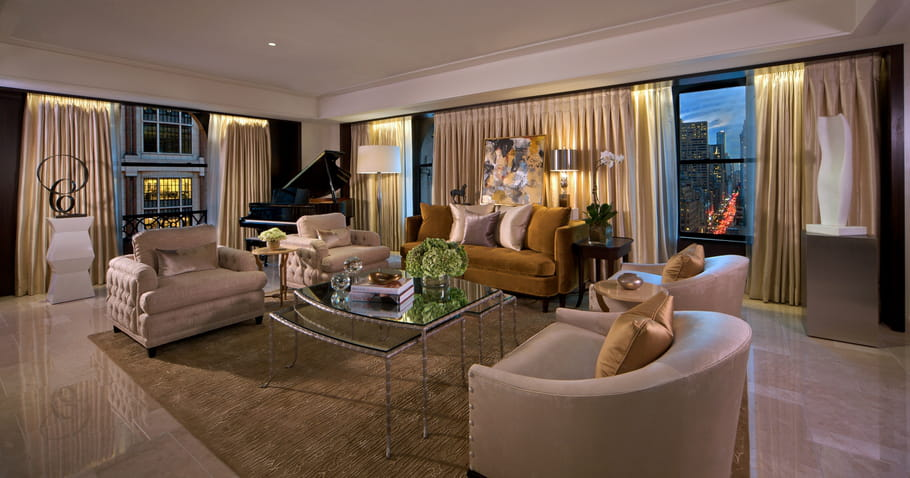 "Le salon de La suite ""Peninsula"""