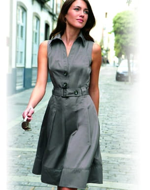 15 robes d 39 t moins de 50 euros saharienne. Black Bedroom Furniture Sets. Home Design Ideas