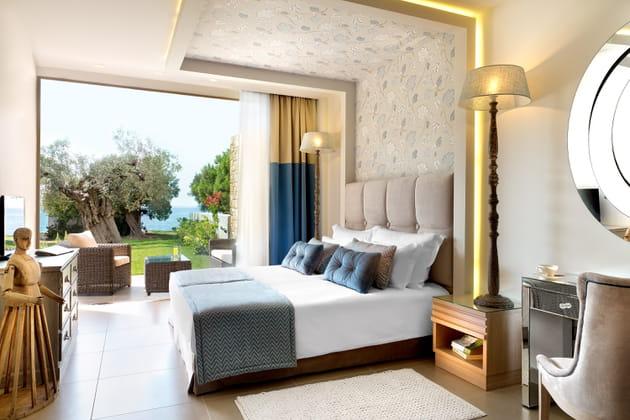Les chambres de l'hôtel Ikos Olivia