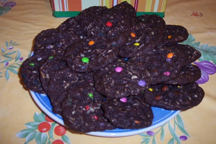 Cookies au smarties
