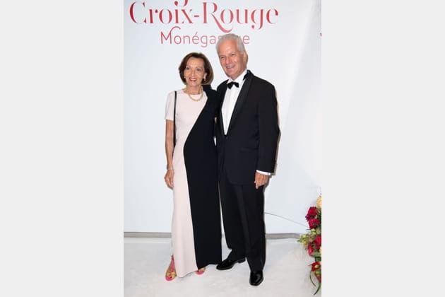 Danielle et Son Excellence Claude Cottalorda, Ambassadeur de Monaco et France