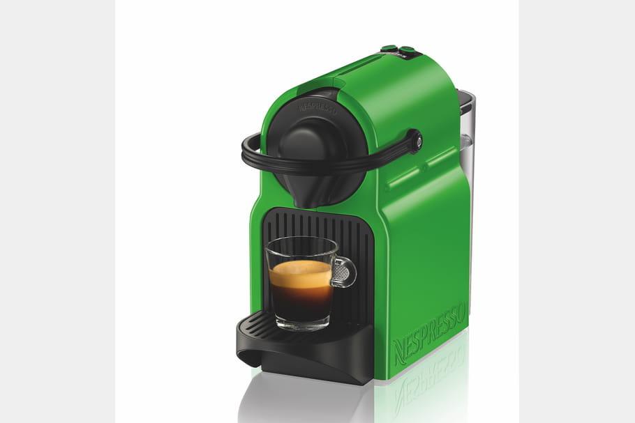 La machine à café vert tropical