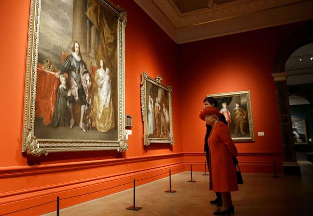 Elizabeth II au musée