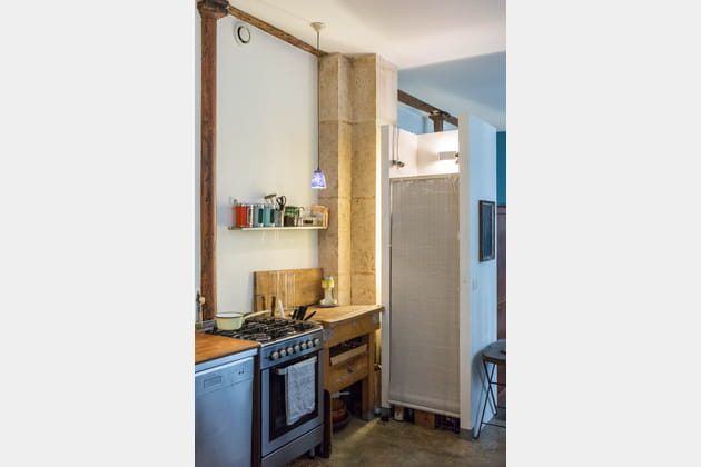 Une cuisine ouverte