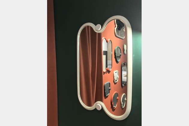 Miroir Guapa de Studio BrichetZiegler pour Bibelo