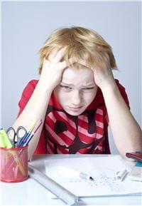 chez l'enfant, les troubles dépressifs sont assez visibles : difficultés