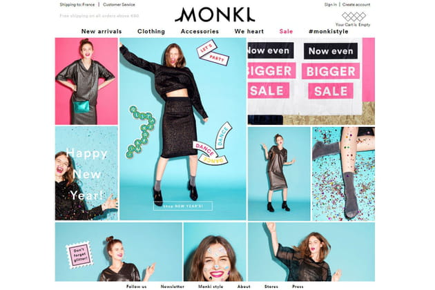 Le e-shop de Monki