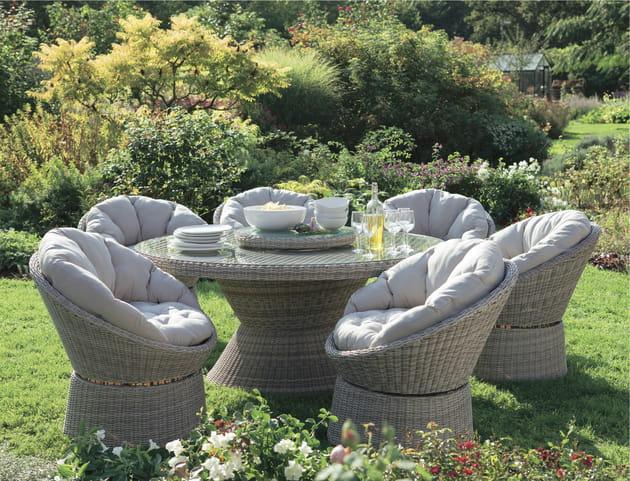 Mobilier de jardin Toledo de Truffaut