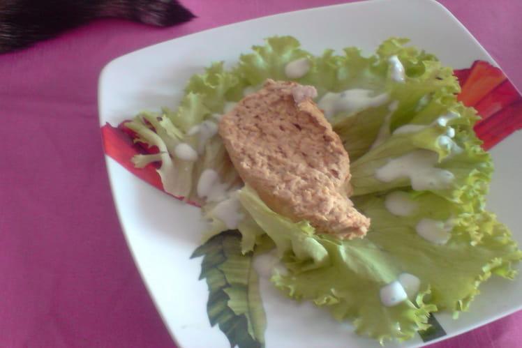 Terrine de thon et légumes du soleil