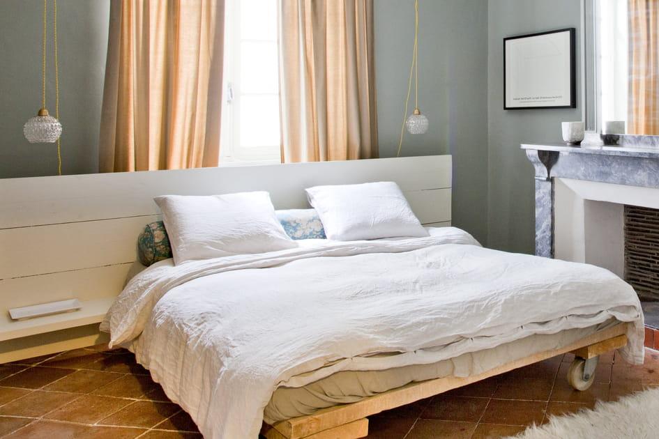 En images, 10têtes de lit réalisées avec des palettes