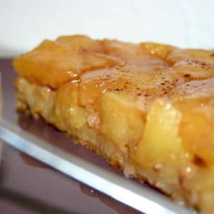 tarte tatin caramel à la fleur de sel