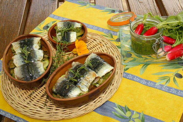recette de sardines farcies au pesto de fanes de radis la recette facile. Black Bedroom Furniture Sets. Home Design Ideas