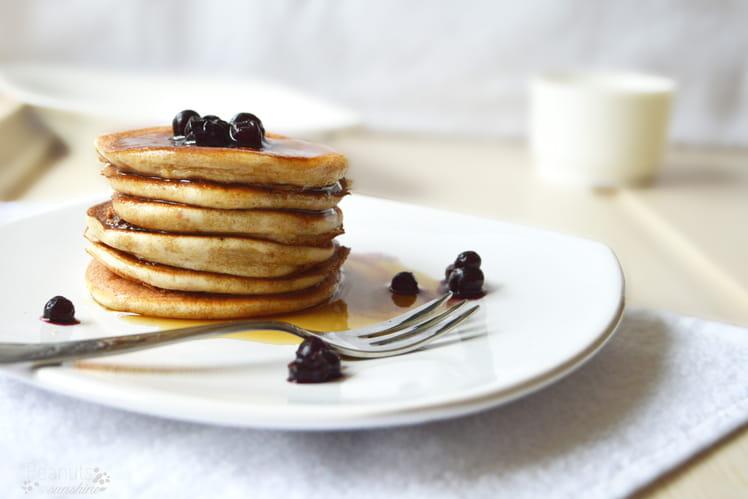 Pancakes énergétiques à la banane