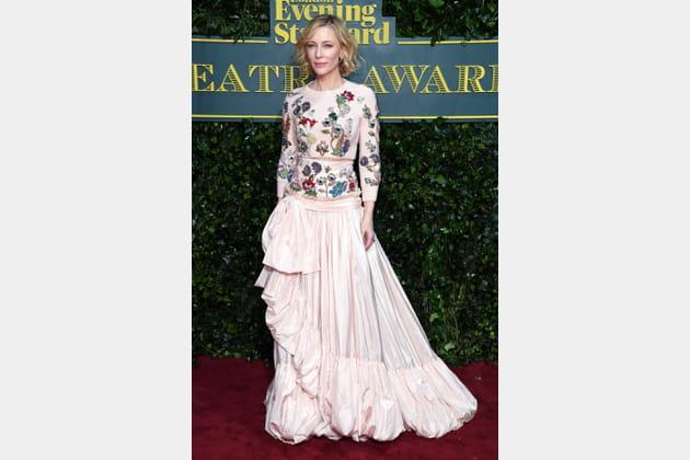 Cate Blanchett le 3décembre 2017