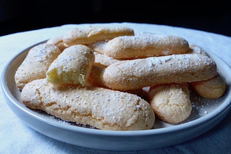 Biscuits à la cuiller sans gluten et sans lactose