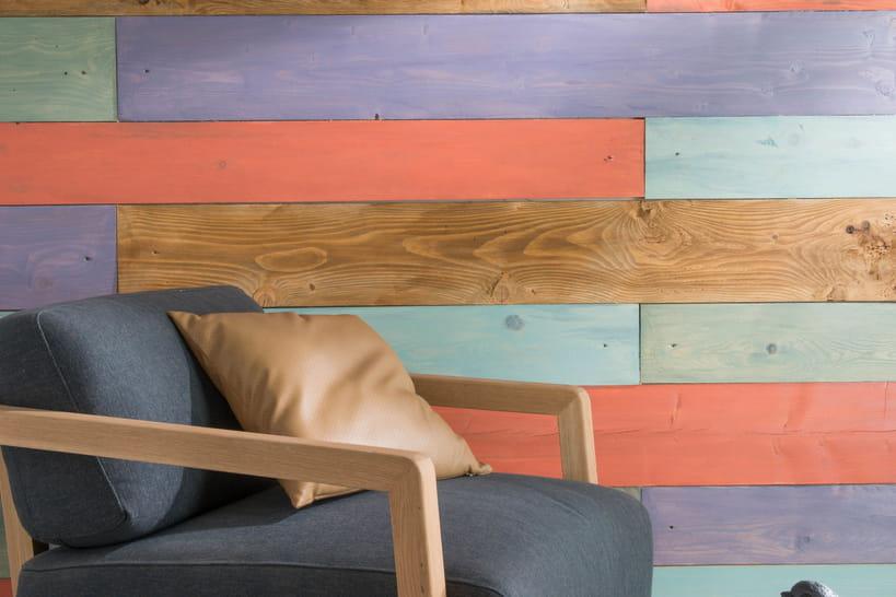 le lambris fait peau neuve. Black Bedroom Furniture Sets. Home Design Ideas