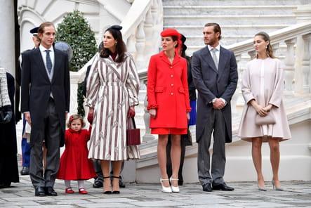 La famille Casiraghi devant l'objectif
