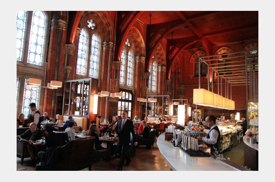 St. Pancras Renaissance London Hotel : le bar