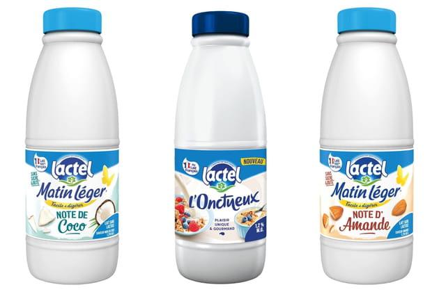 Les nouveaux laits de Lactel