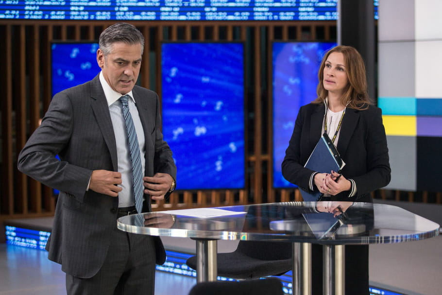 "Cannes 2016 : George Clooney et Julia Roberts pris en otages dans ""Money Monster"""