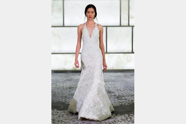 La robe brodée Rivini