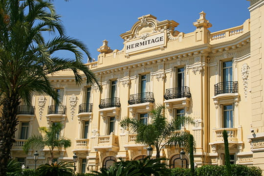 L'hôtel Hermitage de Monaco joue la carte du raffinement