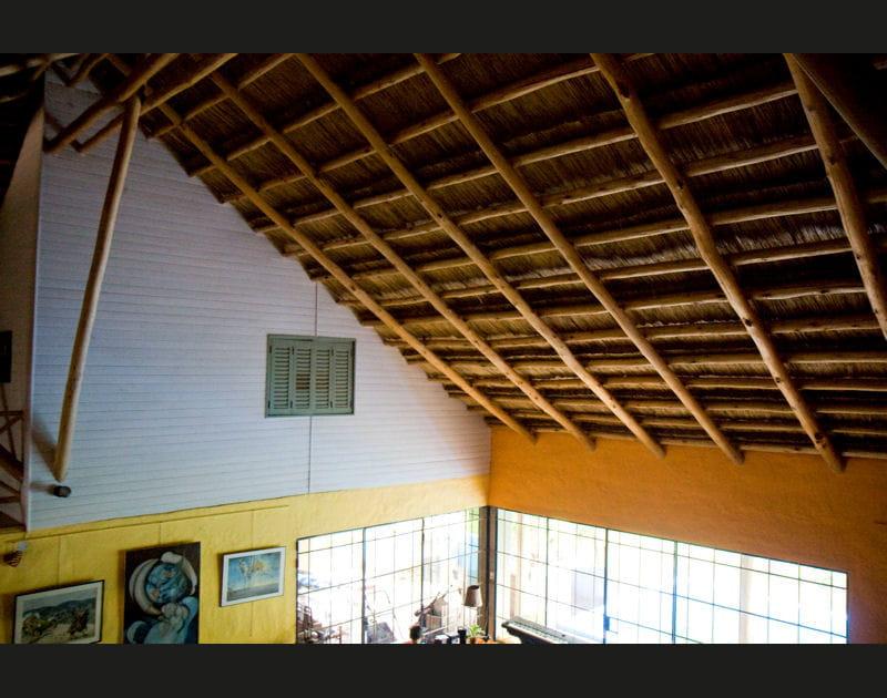 Le toit ose se faire remarquer