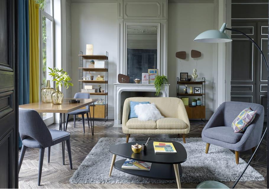 canap s m on de la redoute interieurs des canap s styl s moins de 400 euros journal. Black Bedroom Furniture Sets. Home Design Ideas