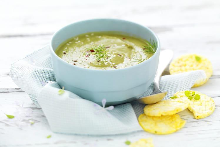 Soupe fraîche d'épinards