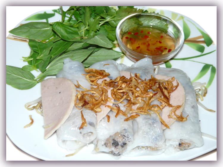 Bien-aimé Recette de Banh cuon - Crêpes vietnamienne à la vapeur : la  DB94