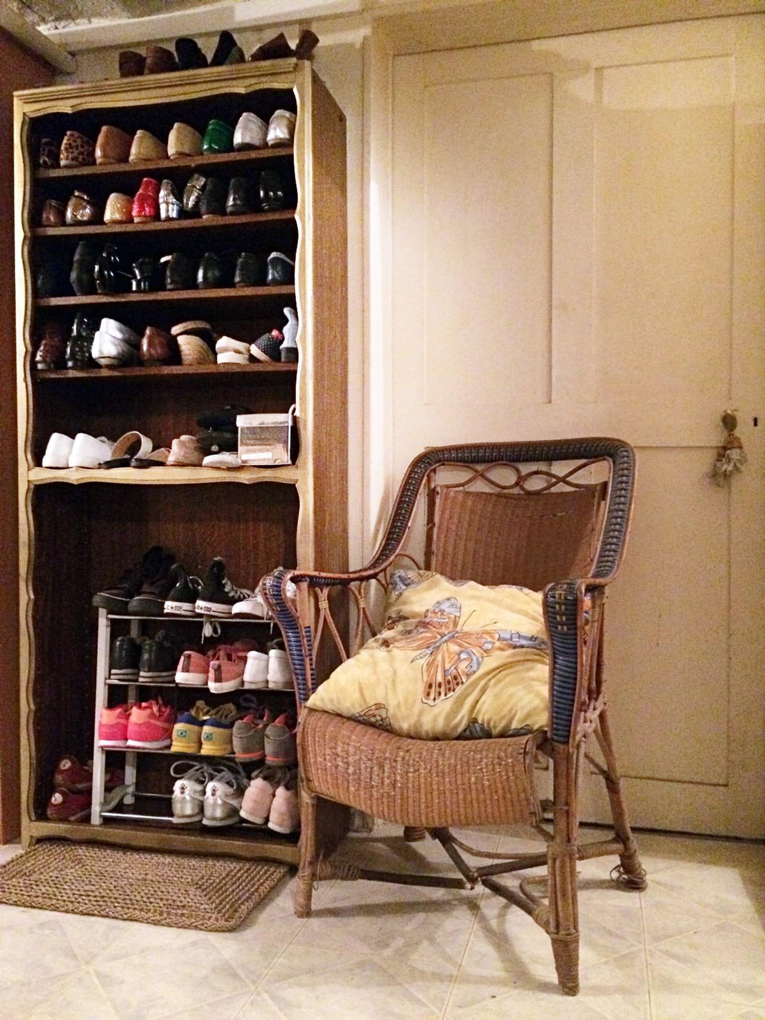 Transformez une bibliothèque en meuble à chaussures [TUTO]