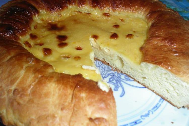 Tarte de ménage comtois (tarte au goumeau)