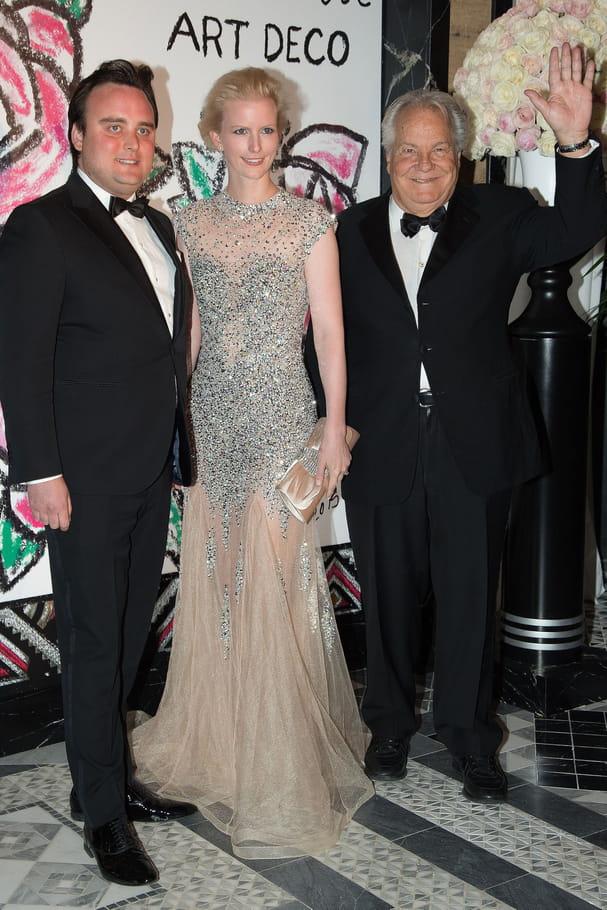 Massimo Gargia, Jean-Sebastien Robine and Claudia Robine