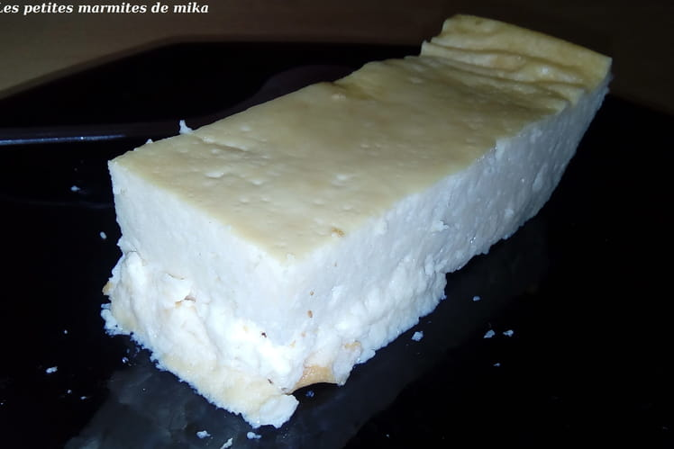 Cheesecake vanille sans complexe sans gluten