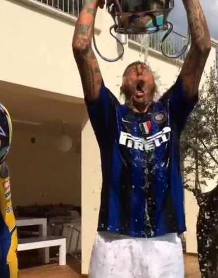 Marco Materazzi Ice Bucket