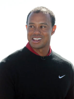 tiger woods, plus à une incartade près