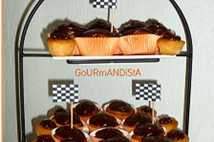 Cupcakes poires-caranut
