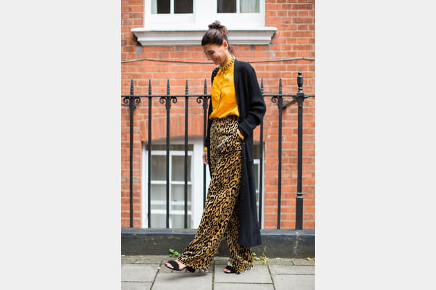 Le pantalon léopard