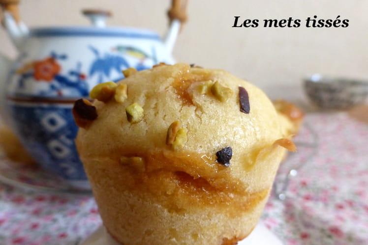 Mini muffins caramel et fève tonka