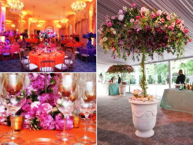 Mariage fleurs : Mariage dans l'air