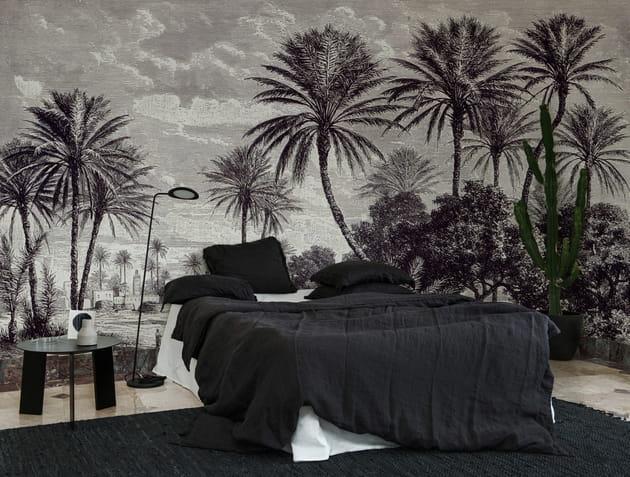 Papier peint Oasis par Au fil des Couleurs