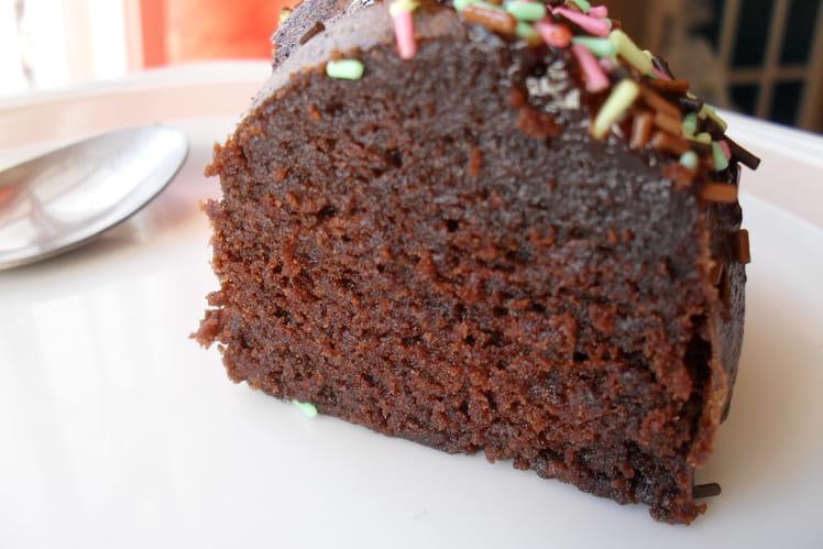Gâteau au chocolat en 8 minutes chrono
