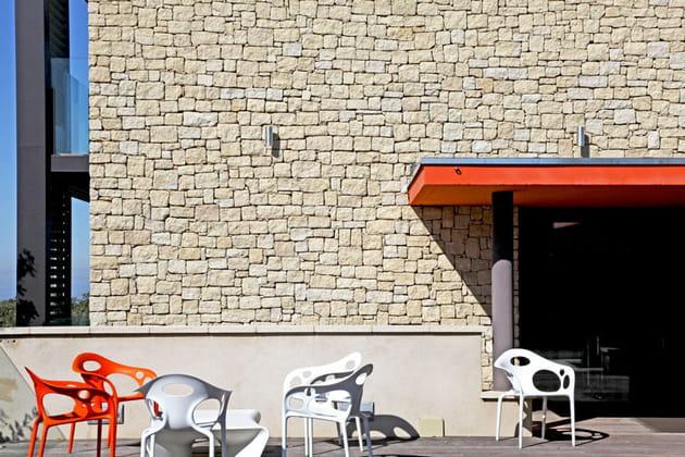 Terrasse futuriste