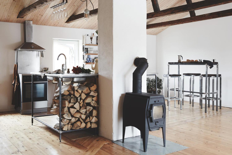 Les poêles à bois, économiques, écologiques et design