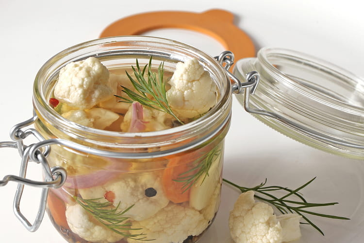 Pickles de chou-fleur